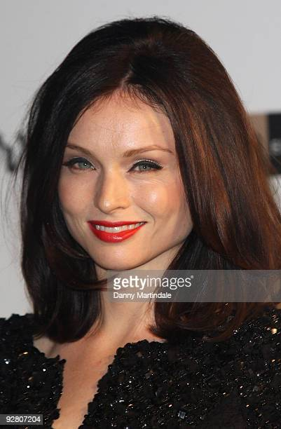 Sophie EllisBextor attends The Emerald Ball in aid of The Elton John AIDS Foundation at Harrods on November 5 2009 in London England