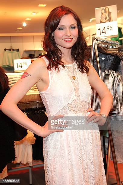 Sophie EllisBextor attends the HM store opening on April 9 2014 in Munich Germany