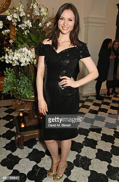 Sophie EllisBextor attends the launch of new luxury hotel The LaLit London on January 26 2017 in London England