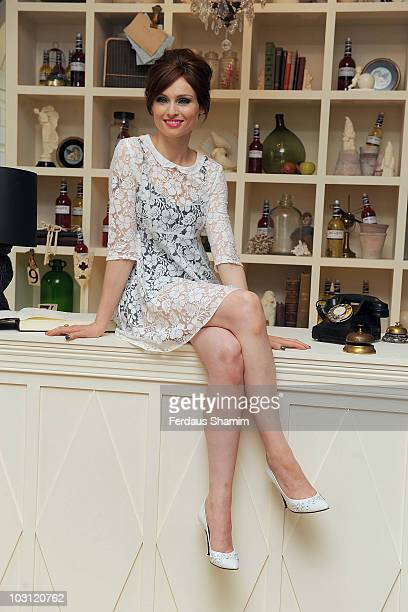 Sophie EllisBextor attends the launch party for Jacques pop up boutique on July 27 2010 in London England