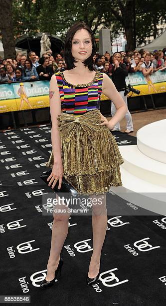 Sophie EllisBextor attends the UK premiere of 'Bruno' at Empire Leicester Square on June 17 2009 in London England