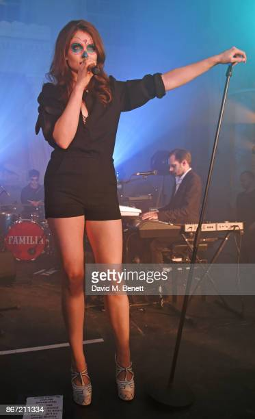 Sophie EllisBextor performs at Unicef's Halloween at Aynhoe Park on October 27 2017 in Banbury England Unicef's Halloween at Aynhoe is raising vital...