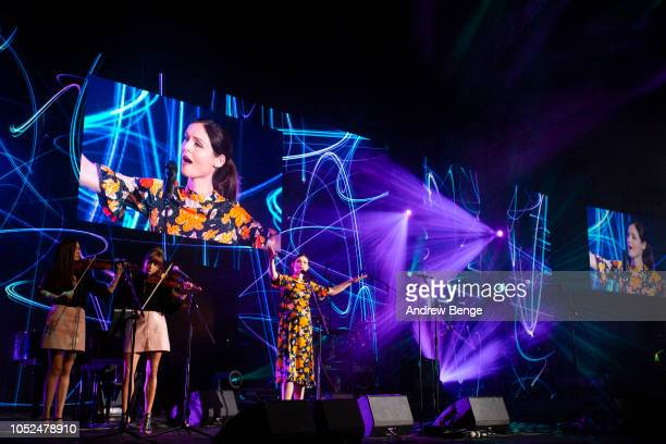 Sophie EllisBextor performs live at the Audio and Radio Industry Awards at First Direct Arena Leeds on October 18 2018 in Leeds England