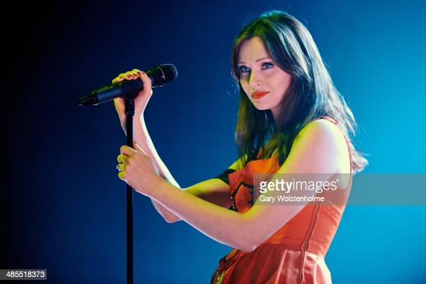 Sophie EllisBextor performs on stage at The Ritz Manchester on April 18 2014 in Manchester United Kingdom