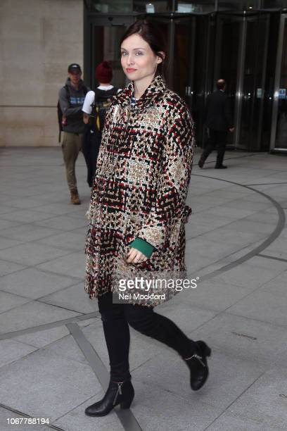 Sophie EllisBextor seen at the BBC Radio Studios on November 15 2018 in London England