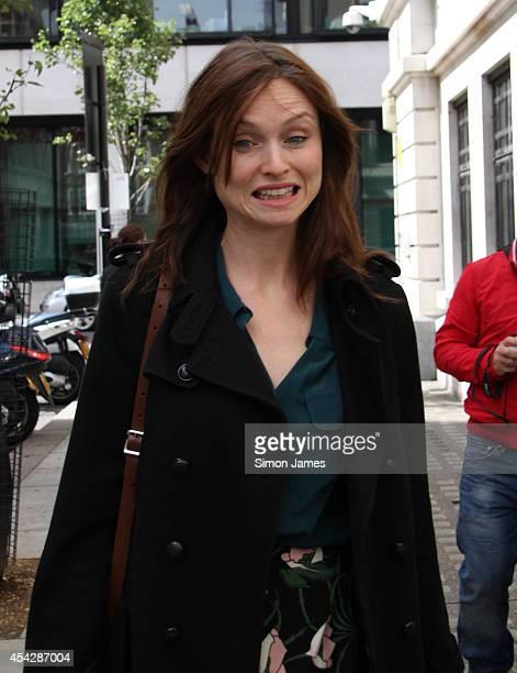 Sophie EllisBextor sighting on August 28 2014 in London England