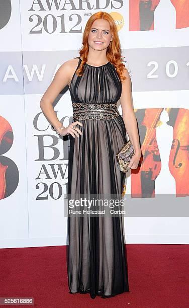 Sophie Evans attends the Classical Brit Awards at Royal Albert Hall