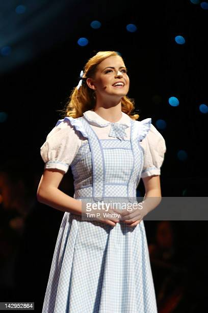 Sophie Evans from Wizard of Oz performs onstage at the 2012 Olivier Awards at The Royal Opera House on April 15 2012 in London England