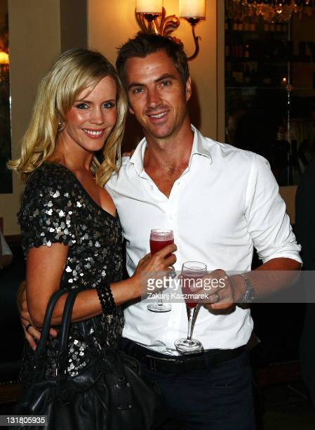 Sophie Falkiner and Tony Thomas arrive at the launch of Foxtel's new documentary series Park Street at the Bambini Trust Wine Room on February 23...
