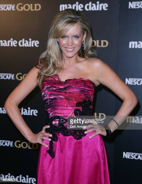 Sophie Falkiner arrives for the 2009 Prix de Marie Claire Awards at the Royal Hall of Industries on April 16 2009 in Sydney Australia