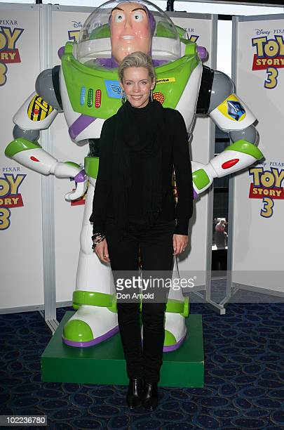 Sophie Falkiner arrives for the premiere of 'Toy Story 3' at IMAX Darling Harbour on June 20 2010 in Sydney Australia