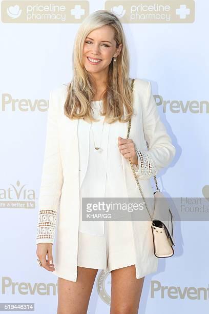 Sophie Falkiner attends National Prevention Week Breakfast held at Catalina Restaurant on April 05 2016 in Sydney Australia