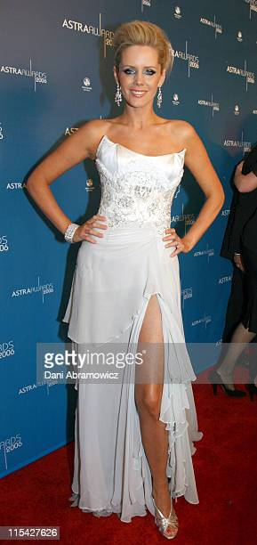 Sophie Faulkner during ASTRA Awards 2006 at Fox Studios in Sydney NSW Australia