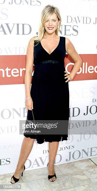 Sophie Faulkner during David Jones Winter 2005 Collections Launch Arrivals and Runway at Sydney Town Hall in Sydney New South Wales Australia