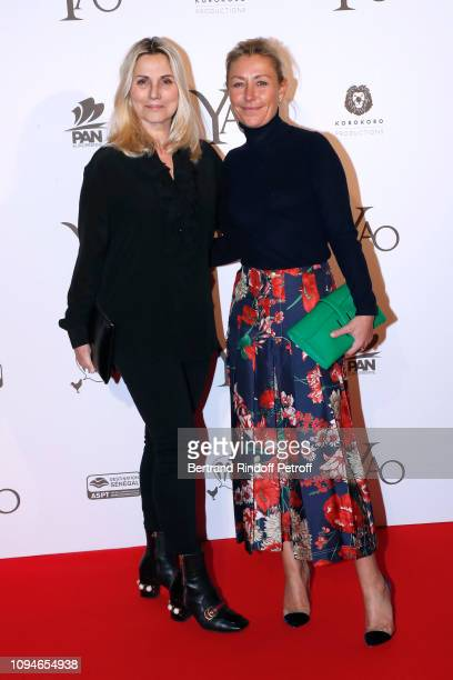 Sophie Favier and Claire Duroc Danner attend the YAO Paris Premiere at Le Grand Rex on January 15 2019 in Paris France