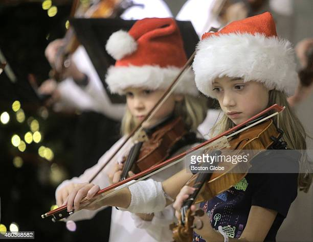 Sophie Fellows of Colchester Vt will undergo surgery tomorrow for a brain tumor Her fellow violin students travelled to Boston to perform a concert...