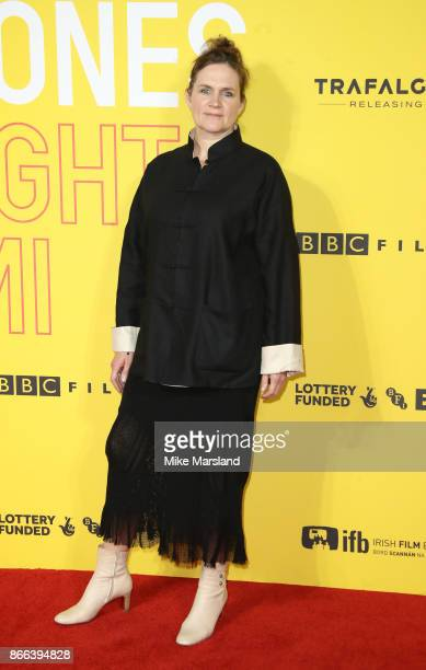 Sophie Fiennes attends the 'Grace Jones Bloodlight And Bami' UK premiere at BFI Southbank on October 25 2017 in London England