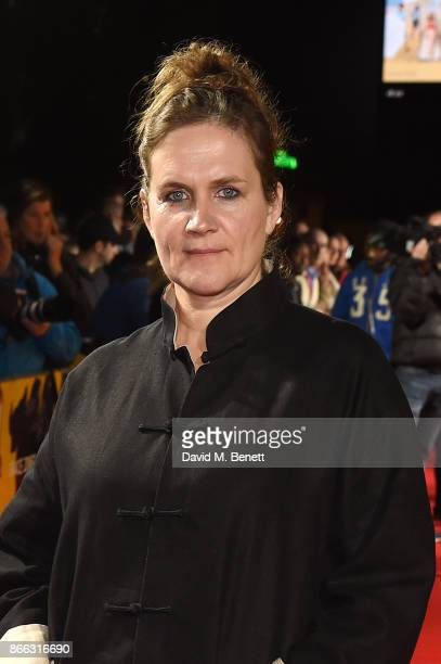 Sophie Fiennes attends the UK Premiere of 'Grace Jones Bloodlight And Bami' at the BFI Southbank on October 25 2017 in London England