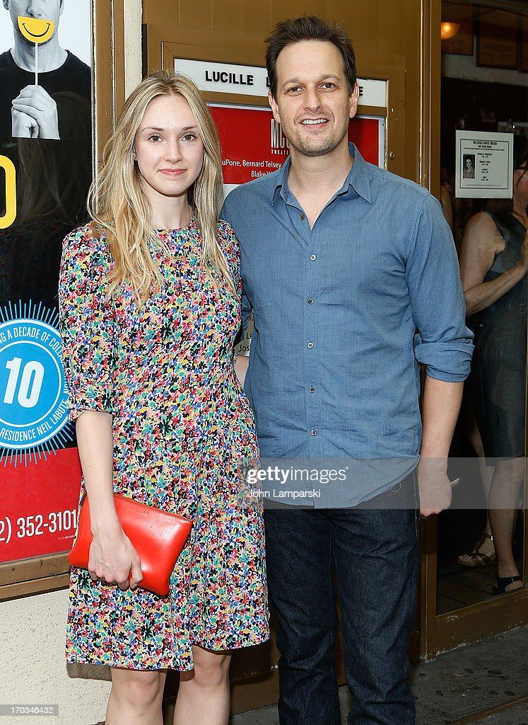 Sophie Flack and Josh Charles attend 'Reasons To Be Happy' Broadway Opening Night at the Lucille Lortel Theatre on June 11, 2013 in New York City.