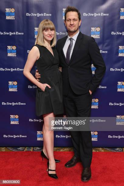 Sophie Flack and Josh Charles attend the 2017 Gotham Awards sponsored by Greater Ft Lauderdale Tourism at Cipriani Wall Street on November 27 2017 in...
