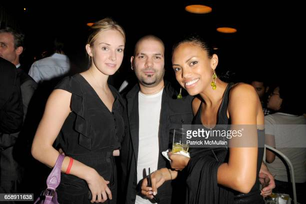 Sophie Flack Guillermo Diaz and Jaime Lee Kirchner attend THE CINEMA SOCIETY HUGO BOSS host the after party for INGLOURIOUS BASTERDS at The Standard...