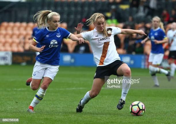 Sophie Fogarty of London Bees during Women's Super League 2 Spring Series match between London Bees against Everton Ladies at The Hive Barnet FC on...