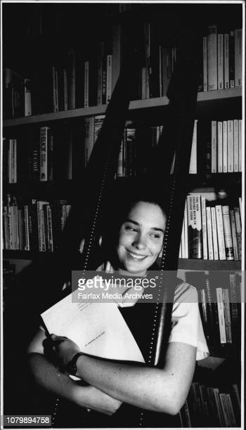 Sophie Gee Winner of the herald young writers award for 1991 Sophie delighted with the award at home tonightFinalist Sophie Gee another story already...