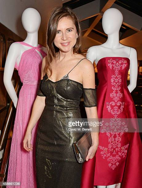 Sophie Goodwin attends as evening wear label TOUJOURI presents their SS15 collection with an intimate dinner hosted by Amber Le Bon Alice...