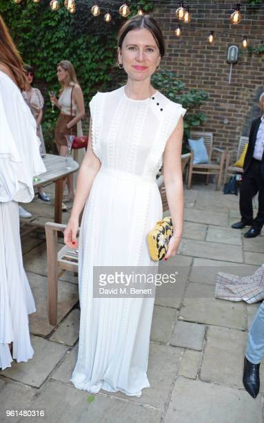 Sophie Goodwin attends the NETAPORTER dinner hosted by Alison Loehnis to celebrate the launch of Rosie Assoulin's exclusive collection on May 22 2018...
