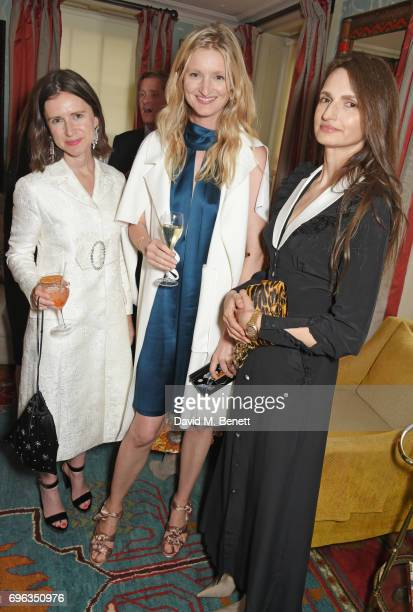 Sophie Goodwin Candice Lake and Alessandra Rich attend an intimate dinner hosted by Alice NaylorLeyland for friends to celebrate her Garden Rose...