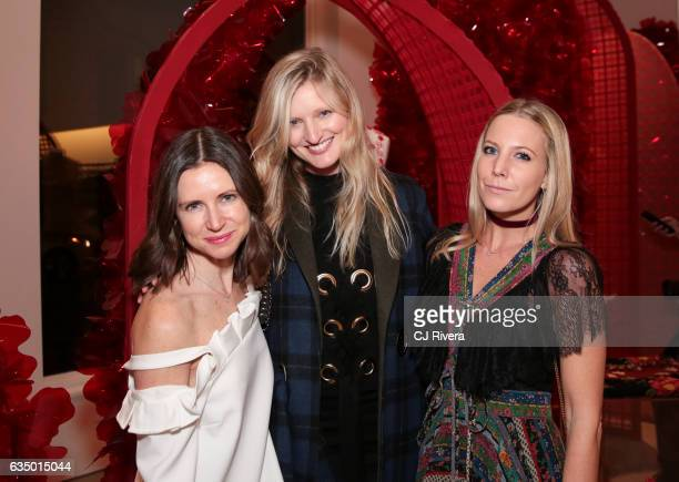 Sophie Goodwin Candice Lake and Alice NaylorLeyland attend the opening of the first Simone Rocha US store on February 12 2017 in New York City