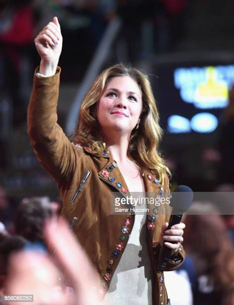 Sophie Gregoire Trudeau is seen on day 8 of the Invictus Games Toronto 2017 on September 30 2017 in Toronto Canada The Games use the power of sport...