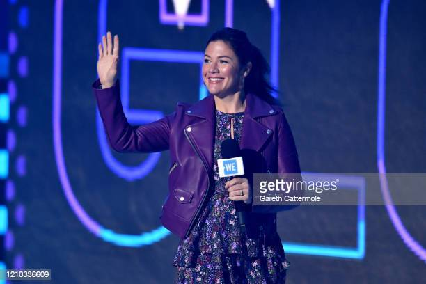 Sophie Gregoire Trudeau on stage during WE Day UK 2020 at The SSE Arena, Wembley on March 04, 2020 in London, England.