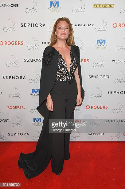 Sophie GregoireTrudeau attends the 3rd Annual Canadian Arts And Fashion Awards held at the Fairmont Royal York Hotel on April 2016 in Toronto Canada
