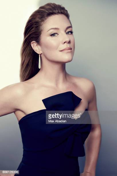 Sophie GregoireTrudeau wife of Canadian Prime Minister Justin Trudeau is photographed for Fashion Magazine on January 10 2017 in Ottawa Ontario
