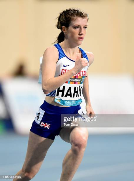 Sophie Hahn of Great Britain on her way to winning the Women's 200m T38 final race on Day Seven of the IPC World Para Athletics Championships 2019...