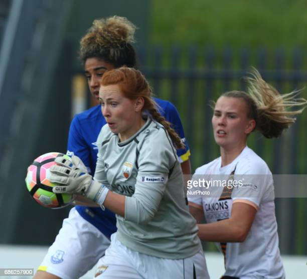 Sophie Harris of London Bees during Women's Super League 2 Spring Series match between London Bees against Everton Ladies at The Hive Barnet FC on 20...