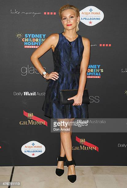 Sophie Hensser attends the 86th Academy Awards Charity Event at the Hilton Hotel on March 3 2014 in Sydney Australia