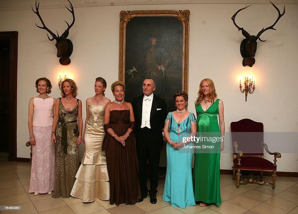 Bridal Soiree Duchess Maria Anna In Bayern : News Photo