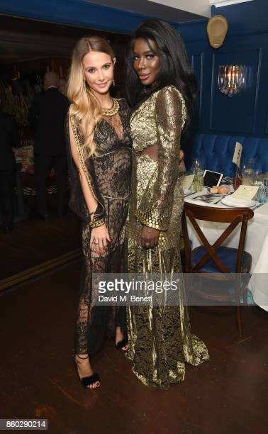 Sophie Hermann and Charrlotte De'Davis attend the The BARDOU Foundation's International Day Of The Girl Gala in support of The Princes Trust at...