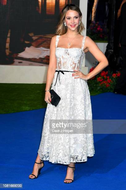 Sophie Hermann attends the European Premiere of 'Mary Poppins Returns' at Royal Albert Hall on December 12 2018 in London England