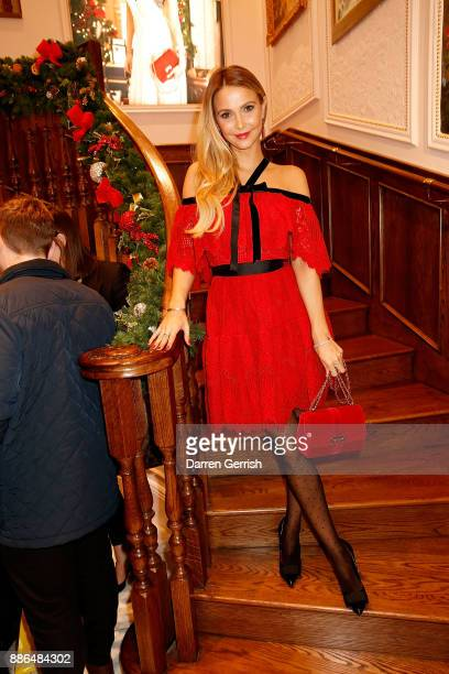 Sophie Hermann attends the new flagship store launch of Aspinal on Regent's Street St James's on December 5 2017 in London England
