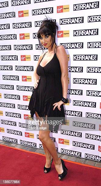 Sophie Howard during 2005 Kerrang Awards at The Brewrey in London Great Britain