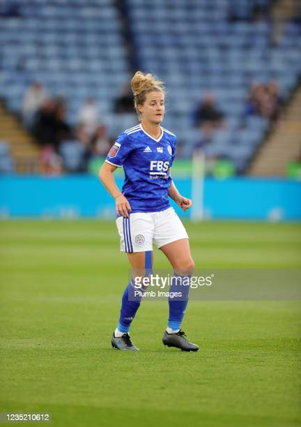 Sophie Howard of Leicester City Women during the Barclays FA Women's Super League match between Leicester City Women and Manchester United Women at...