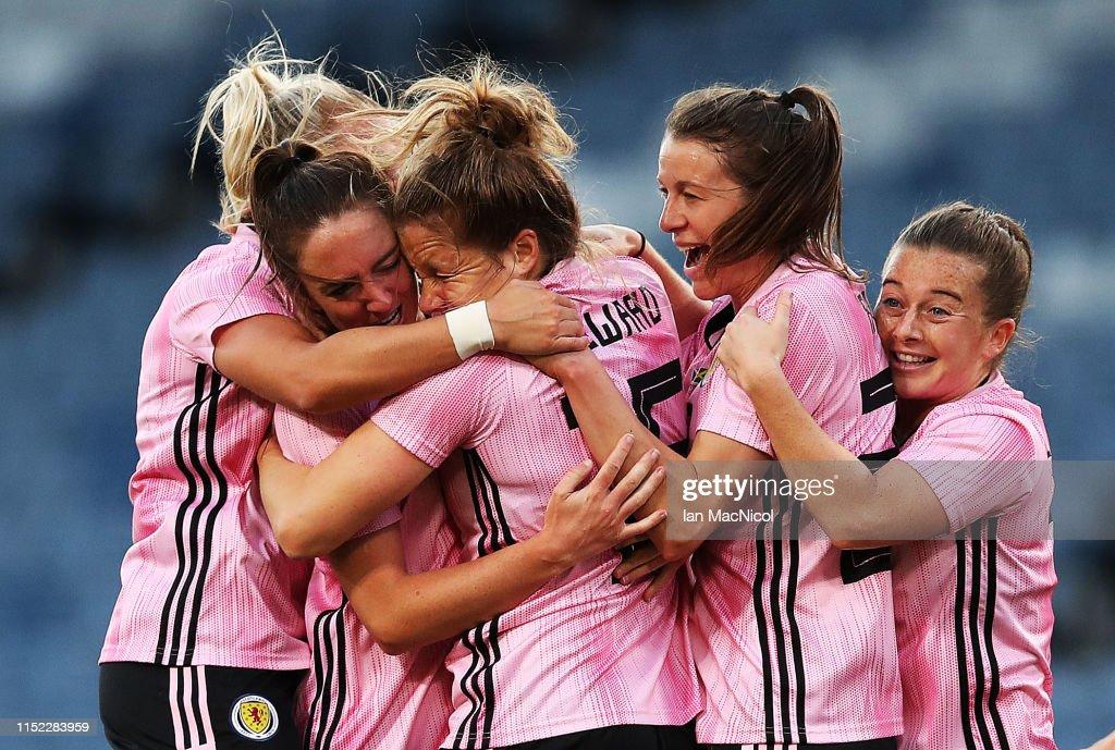Scotland v Jamaica - Women's International Friendly : News Photo