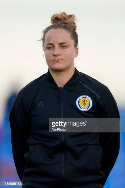 Sophie Howard of Scotland during the international friendly match between Brazil W and Scotland W at Pinatar Arena on April 08 2019 in San Pedro del...