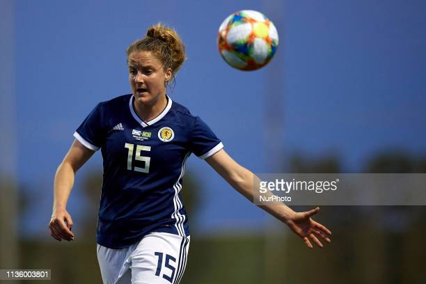 Sophie Howard of Scotland in action during the international friendly match between Brazil W and Scotland W at Pinatar Arena on April 08 2019 in San...