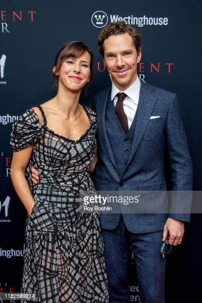 "Sophie Hunter and actor Benedict Cumberbatch attends ""The Current War"" New York Premiere at AMC Lincoln Square Theater on October 21, 2019 in New..."
