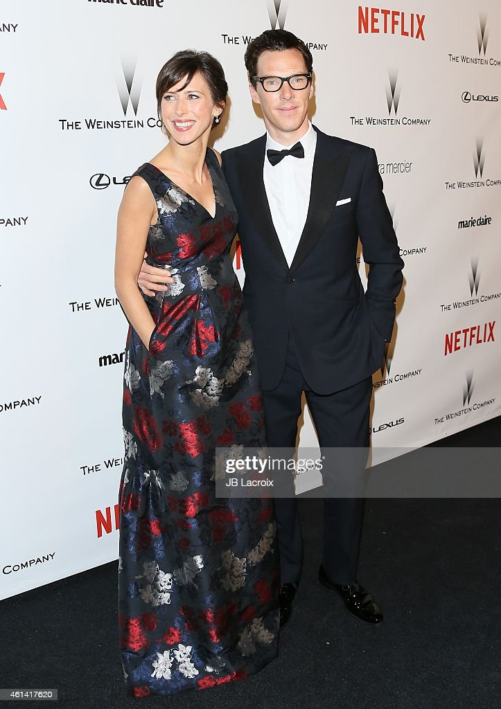 The Weinstein Company And Netflix Golden Globes After Party - Arrivals