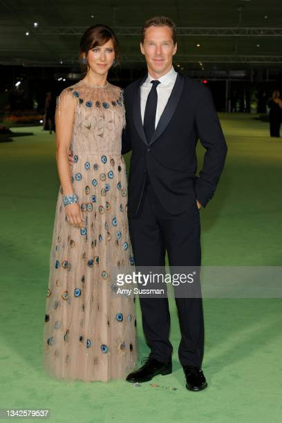 Sophie Hunter and Benedict Cumberbatch attend The Academy Museum of Motion Pictures Opening Gala at The Academy Museum of Motion Pictures on...